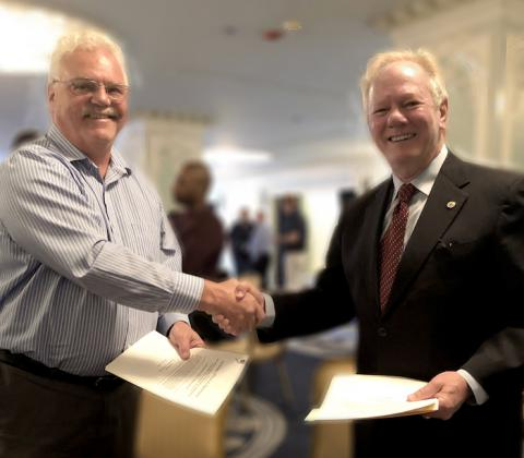 Boilermakers and Utility Workers sign historic agreement